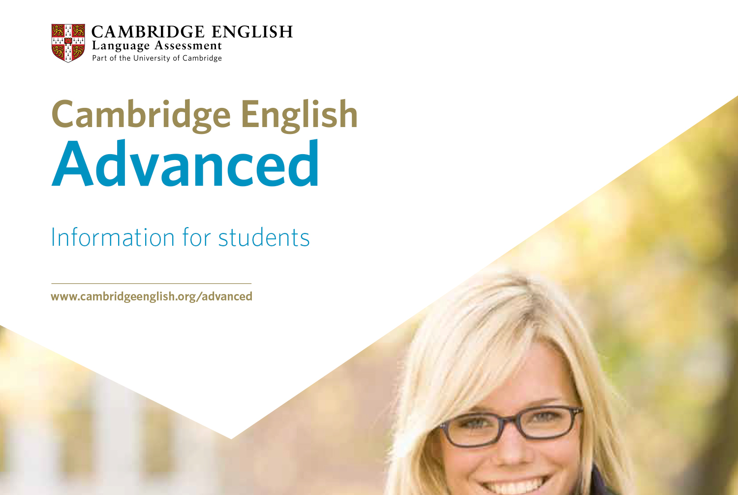 Cambridge English Advance. Information for students